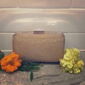 Other - Rose Gold Shimmery clutch purse evening